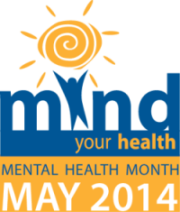 Mind your health!  It's Mental Health Month!