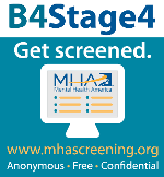 Addressing Mental Health Before Stage 4 (#B4Stage4)